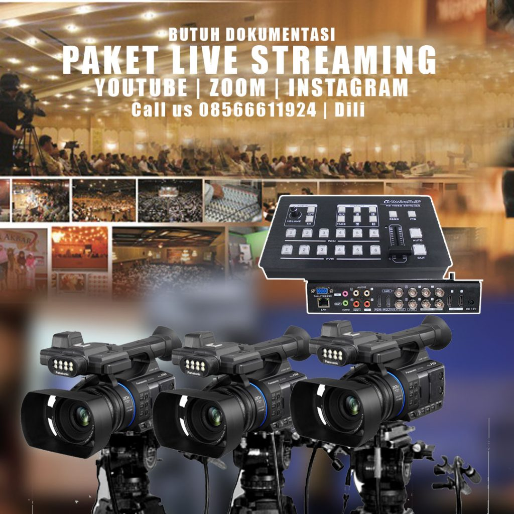 Jasa live streaming
